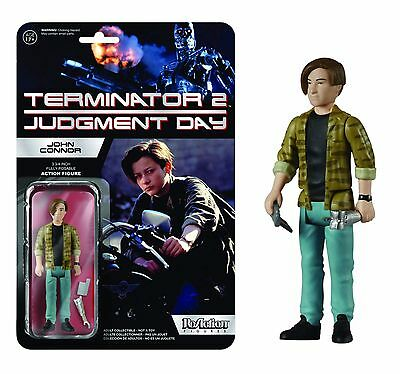 Terminator 4 John Connor (2015 FUNKO REACTION TERMINATOR 2 JUDGMENT DAY JOHN CONNOR 4