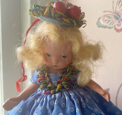 Nancy Ann Storybook Doll- Bisque- Vintage-PUDGY-Thursday