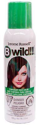 B Wild Temporary Hair Color Spray 3.5 oz, Jaguar Green, GREAT 4 Halloween~!!! - Halloween Hair Color Spray