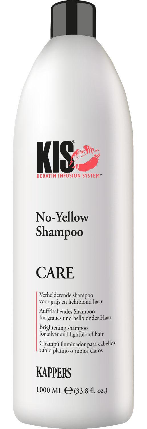 KIS No-Yellow Shampoo für graues & blondes Haar 1000 ml  █▬█ █ ▀█▀