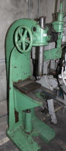 12 Ton Greenerd Ratchet Arbor Press Floor Standing Adjustable Bed Pressing