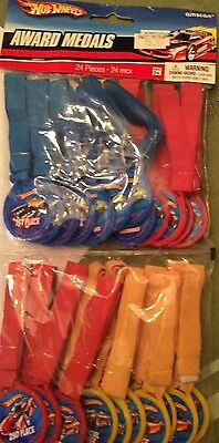 Hot Wheels Speed City Party Supplies-Award Medals-24 pieces (City Supplies)