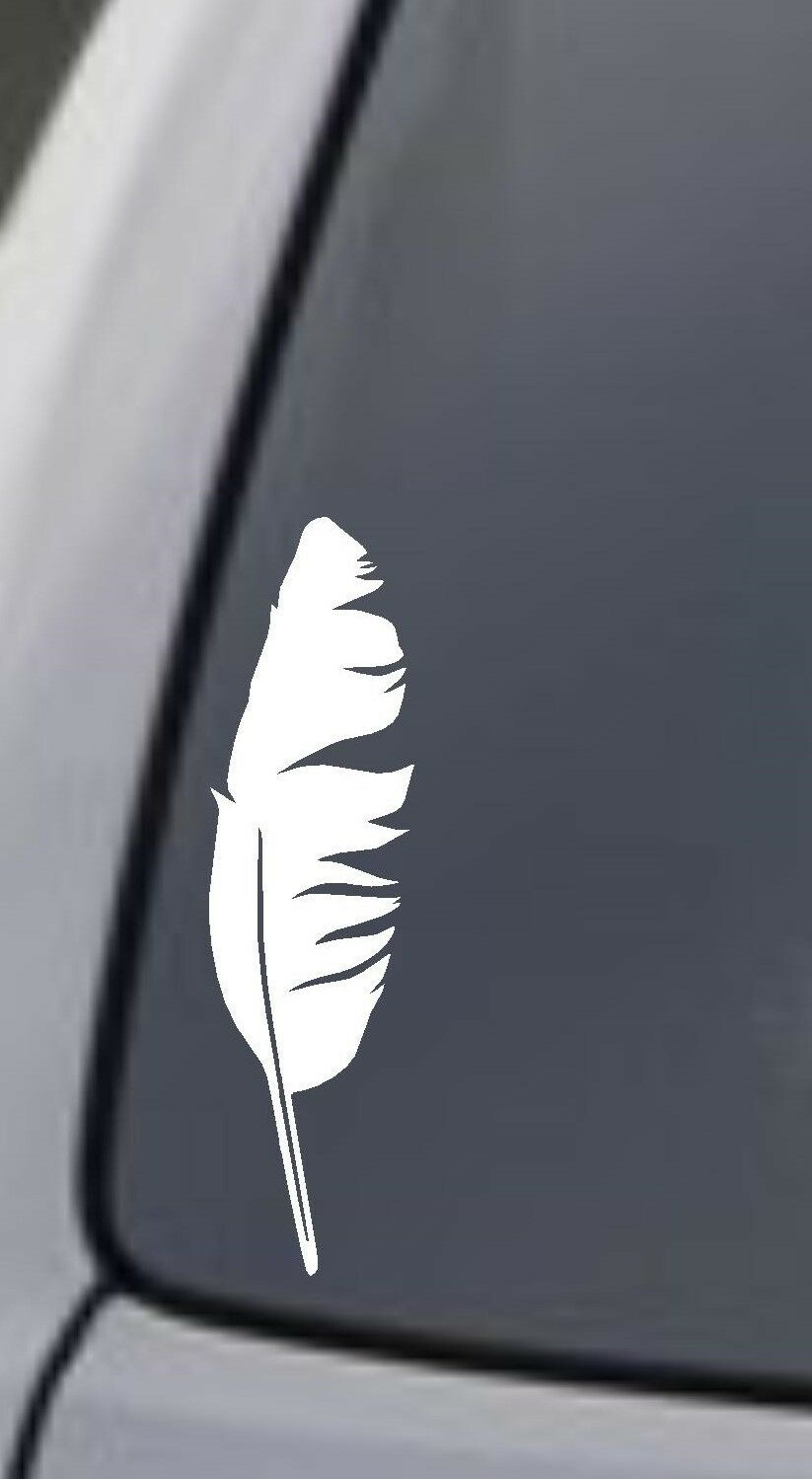 FEATHER Vinyl Decal Car Window Wall Bumper Macbook Laptop Na