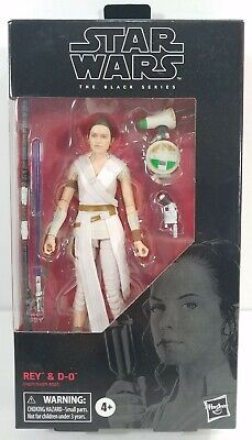 2019 Star Wars The Black Series 6 Inch #91 REY and D-O E4077/E4071