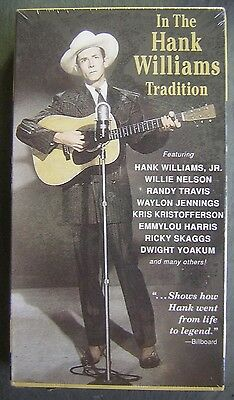 In The Hank Williams Tradition - Featuring Top Country Stars - Unopened VHS