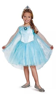 Disney Frozen Elsa Tutu Prestige Disguise Tiara Costume, Small (4-6x) - Disguise Elsa Costume