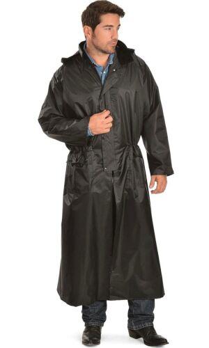 Double S Adult Saddle Slicker Black Full Length Size L Large NEW 12130