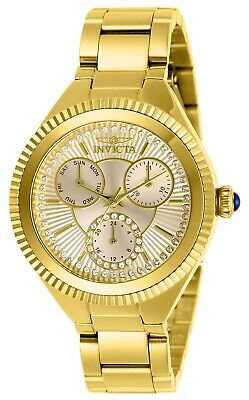 Invicta Women's Angel 28345 36mm White Dial Stainless Steel Watch
