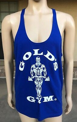 NWOT Vintage Gold's Gym Arnold Schwarzenegger Muscle Bodybuilding Tank Top Large
