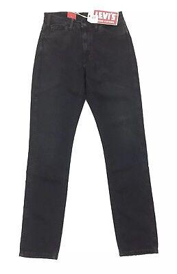 4eed0bfd662 NEW Levi's Vintage Clothing LVC 1969 606 Black Denim Orange Womens Jeans  Size 28