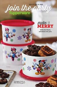 ISO Disney Holiday Tupperware!! Edmonton Edmonton Area image 1