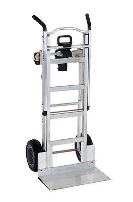 Cosco 3-in-1 Aluminum Hand Truckassisted Hand Truckcart W Flat Free Wheels