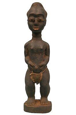 Art African Tribal - Authentic Husband Mystique - Blolo Bian Baoulé - 23,5 cm