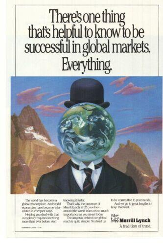1989 Merrill Lynch Advertisement