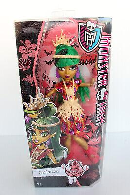 monster high puppe doll Jinafire Long new neu - Monster High Ghouls