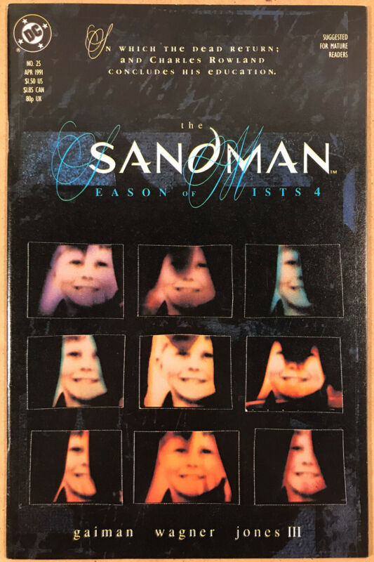 Sandman 25 (1991, DC Vertigo) NM-/NM, 1st Dead Boy Detectives, Doom Patrol