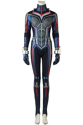 Ant-Man and the Wasp Trailer 2 Jumpsuit Outfits Halloween Cosplay Costume ()
