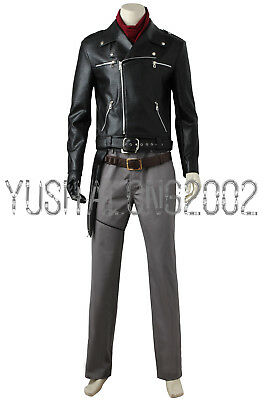 The Walking Dead S8 Negan Cosplay Kostüm Halloween Costume neu