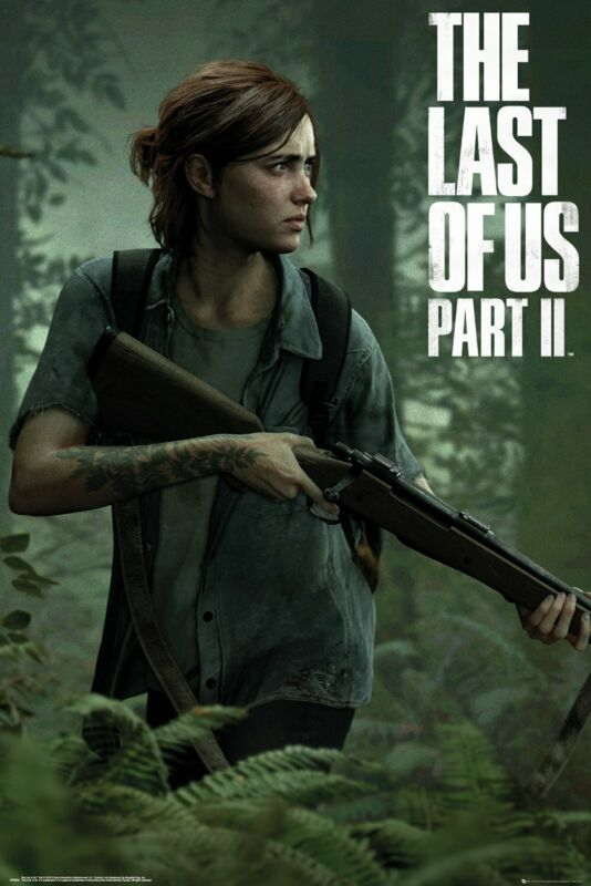 THE LAST OF US: PART II - GAMING POSTER (ELLIE / GAME COVER - PART 2)