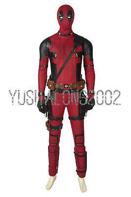 X-Men Deadpool Wade Winston Wilson Cosplay Kostüm Halloween Costume Maske 1