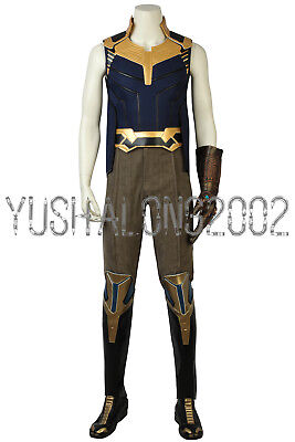 Avengers III 3 Infinity War Captain America Thanos Cosplay Kostüm Costume (Thanos Kostüme)