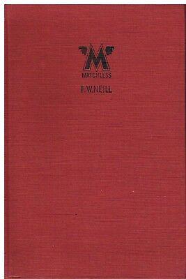 MATCHLESS SILVER ARROW HAWK C D F G X MORGAN / BROUGH ENGINE 1933- REPAIR MANUAL