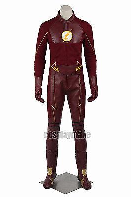 Superhero Barry Allen Cosplay Costume Superhero Costume Outfit All Size](All Superhero Costumes)