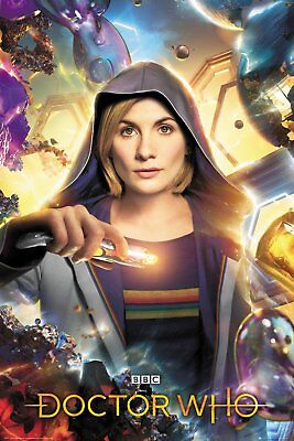 DOCTOR WHO - TV SHOW POSTER (UNIVERSE CALLING - 13TH DR. - JODIE WHITTAKER)