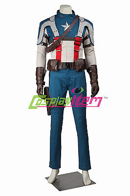 The First Halloween Costumes (Captain America The First Avenger Captain America Costume Outfit For)