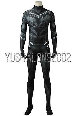 Captain America 3 Civil War Black Panther T'Challa - Black Panther Kostüm Cosplay