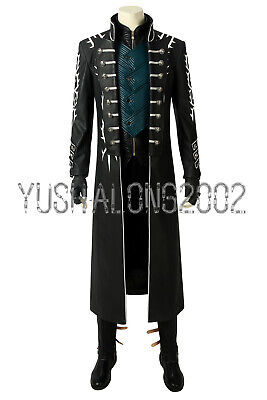 Devil May Cry 5 V Mysterious Man Nero Cosplay Kostüm Costume OutfitHalloween