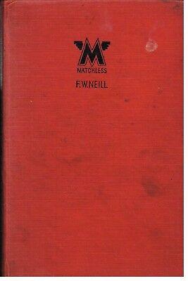 MATCHLESS SILVER ARROW HAWK C D F G X MORGAN BROUGH ENGINE 1933-53 REPAIR MANUAL