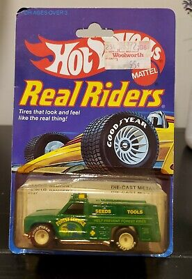 1982 Hot Wheels Real Riders Rescue Ranger  Truck - Green - New in Package