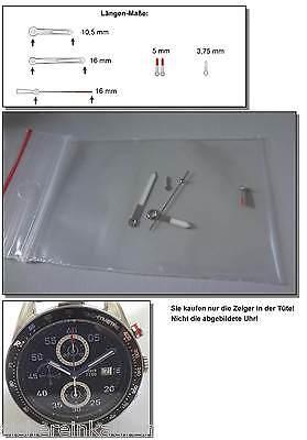 Zeigersatz (6 Zeiger) für ETA/VALJOUX Automatik-Werk 7750 (#470-Z)