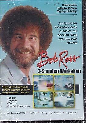 Bob Ross 3 Std  Workshop DVD