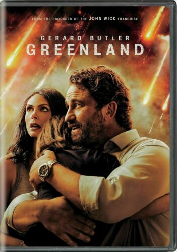 Greenland DVD w/ Gerald Butler - Brand New Sealed! Free Ship  usps