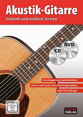 Akustik-Gitarre - Schnell und einfach lernen - mit CD und DVD