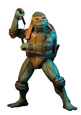 Michelangelo Mutant Ninja Turtle (Teenage Mutant Ninja Turtles – 1/4 Scale Action Figure – Michelangelo -)