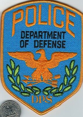 United States Department of Defense Police Patch Federal Government DoD Agency