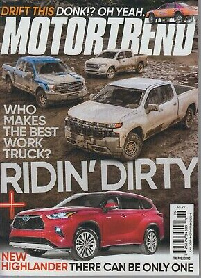Motortrend June 2019 Ridin' Dirty/Who Makes the Best Work (The Best Truck 2019)