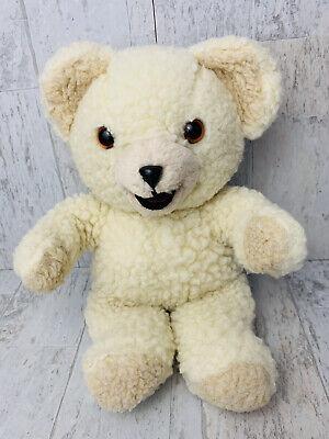 "Vintage 1986 Russ SNUGGLE Fabric Softener Mascot 10"" Plush Teddy Bear"