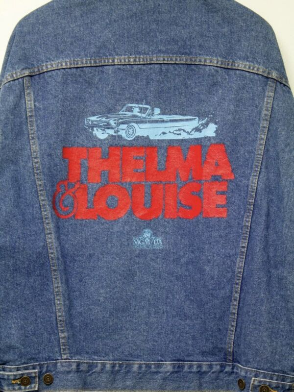 Vintage Thelma and Louise Universal Promtional Jean Jacket