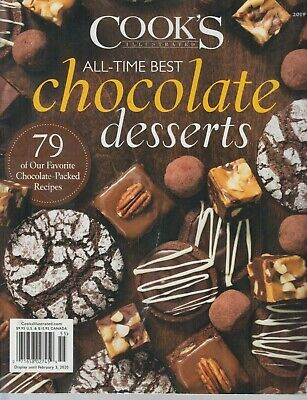 Cook's Illustrated All-Time Best Chocolate Desserts 2019 (Best Desserts Recipes 2019)