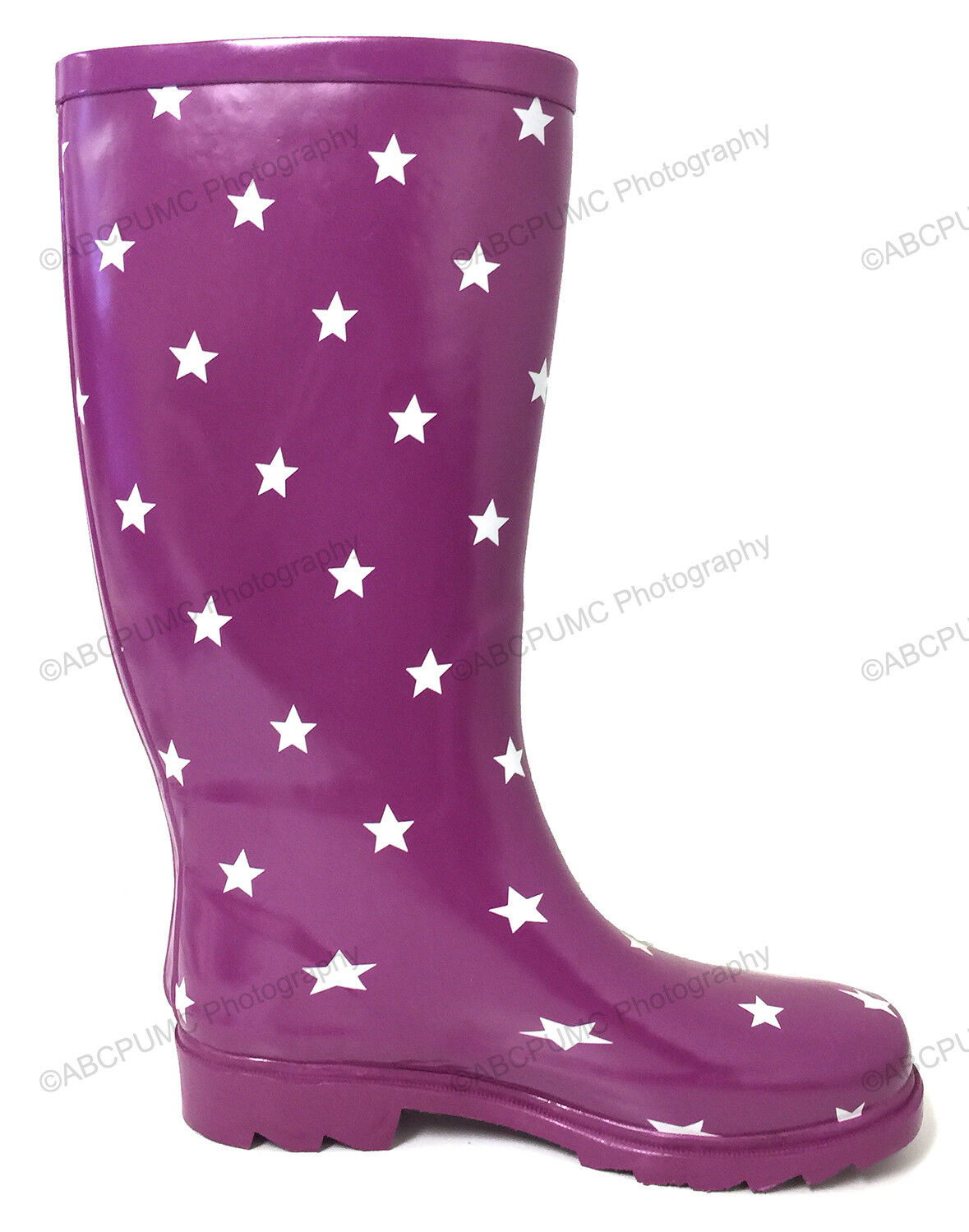 Women's Rain Boots Rubber Waterproof Colors Wellies\ Mid Calf Snow Boots, Sizes