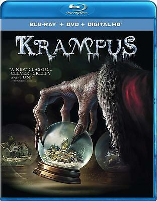 Krampus (Blu-ray and DVD) NEW Factory Sealed, Free Shipping - Fantasy Factory Halloween