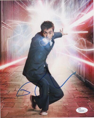 David Tennant Doctor Who Autographed Signed 8x10 Photo JSA COA #2