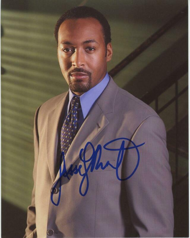 "Jesse L. Martin ""Law & Order"" AUTOGRAPH Signed 8x10 Photo"