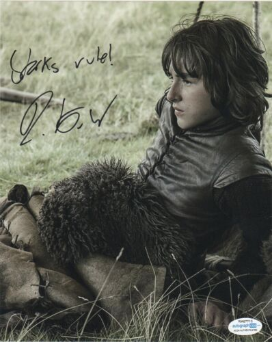 Isaac Hempstead Wright Game of Thrones Autographed Signed 8x10 Photo ACOA MA6