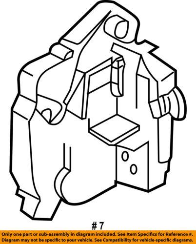 Mini Oem 2008 Cooper Door Lock Actuator Motor 51200556769