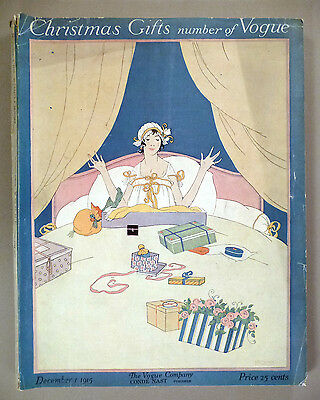 Vogue Magazine - December 1, 1915 ~~~ Robert McQuinn cover art